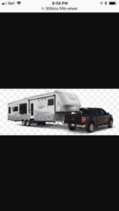 fifth wheel camping trailer 2014 bunckhouse