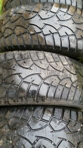 """Set of 4-195/65/15"""" Winter tires/Also a Pr. of 185/60/15"""" Winter"""