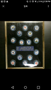 XV Olympics Collector Caps in Frame