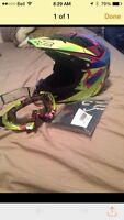 Motocross Helmet and Goggles