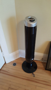 "37"" Tower Fan - Great for air circulation"