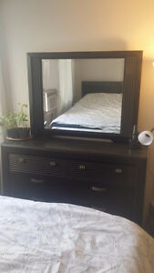 bed,drawer, night table, dresser with mirror for the best offer.