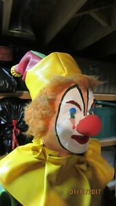 OLD ANIMATED AMUSEMENT PARK CLOWN London Ontario image 3