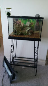 10G Fish Tank with Stand