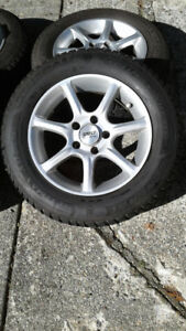Mercedes Snow Tires with Rims