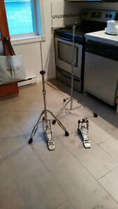 Pedale Simple, Hi-Hat  stand , Stand Droit , tous Pearl