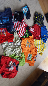 Boys lot t shirts. Size 5-6