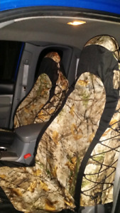 Camp seat covers