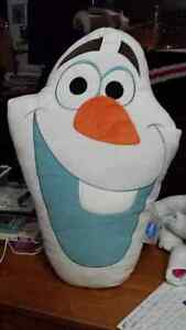 Big Olaf shaped pillow