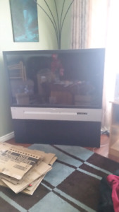 Rca 50 inch rear projection TV.  Works fine  $30