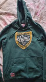 Size L ladies Superdry hoodie