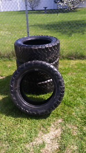Toyo open country 33×12.5 r20 used tires