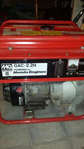 Generator Multiquip - GAC 2.2H Gasoline Engine Honda GX160