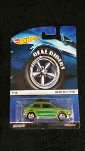 HOT WHEELS REAL RIDERS SET OF 4 CARS HEAVY METAL BODY