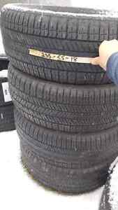 Bunch sets 18 inch truck tires