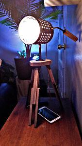 Lumiere et support tablette et cell style vintage industriel Saguenay Saguenay-Lac-Saint-Jean image 5