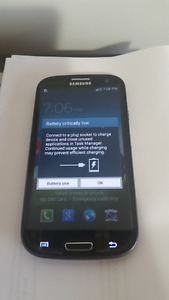 Samsung S3 unlocked and in excellent condition