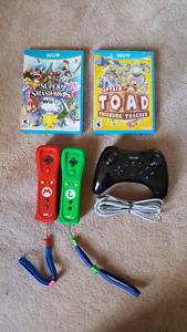 Wii Accessories and WiiU Games