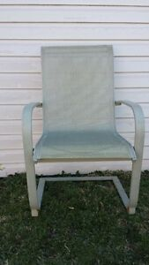2 SLING STYLE PATIO CHAIRS