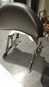 Passenger Backrest Lock and Ride for Victory Cross Country