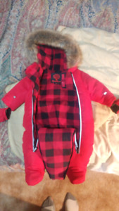 3-6 month children's snow suit