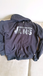 Vans fleece jacket good condition