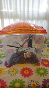 Fish Tank with pump and supplies  $10