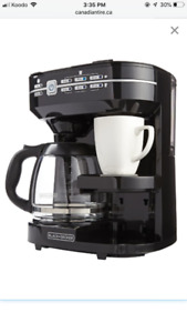 Black and Decker Café Select Dual Coffeemaker for Sale!