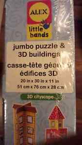 Brand new sealed Alex little hands 3D cityscape puzzle West Island Greater Montréal image 4