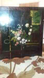 Hand Painted Chinese  Room  Divider 160.00 Cambridge Kitchener Area image 1