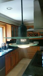 • 6 pendant lights prefect for over my kitchen island.