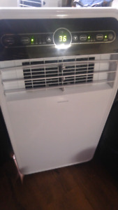 2 portable air conditioners 12000btu and 5000btu
