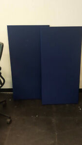 "Acoustic Panels -  Auralex ProPanels B124 x 3 (Blue) 1"" x 2' x 4"