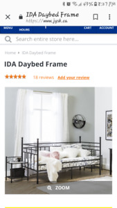 Daybed Frame with Canopy