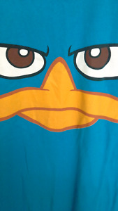 Disney's Phineas and Ferb's Perry the Platypus T-shirt. Men's XL