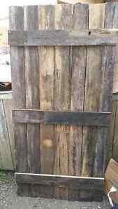Aged Barnwood door. $80 226.280.4999