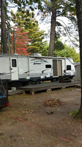 2013 36 feet avenger forest river delux buy in 2014