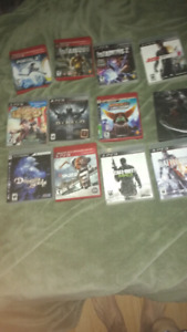 PS3 and Gamecube Games