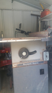 Rockwell/Beaver table saw - $50.00