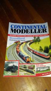 Free model train magazine