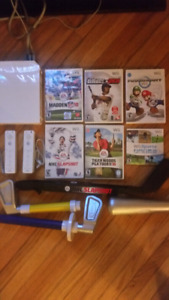 Wii System complete with 6 games