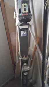 Skis with binding and poles  Kitchener / Waterloo Kitchener Area image 1
