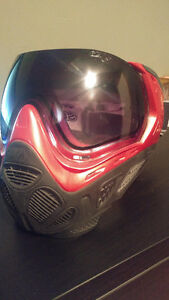SLY PAINTBALL MASK PROFIT SERIES - LE RED/GREY