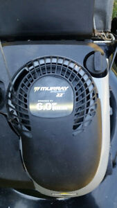 3 in 1 6 HP Murray lawnmower with rear bag in excellent conditio
