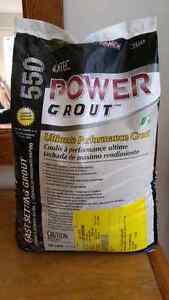 Power Grout - unopened bag. Bright white.