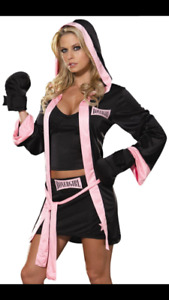 Boxer girl costume size small