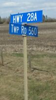 Lot 4 Sale! Only minutes from Fort Saskatchewan!