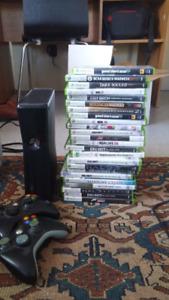 Xbox 360 +  various games