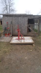 Tire changer free must take cement pad also