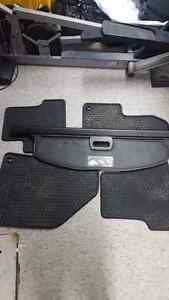 Jeep cherokee mats and trunk cover West Island Greater Montréal image 1